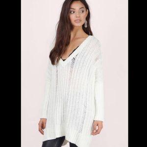 Tobi white sweater